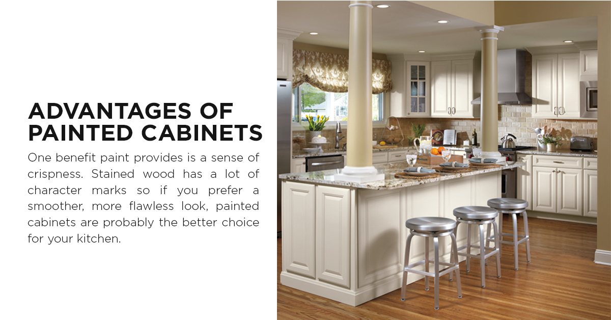 Advantages of Painted Cabinets