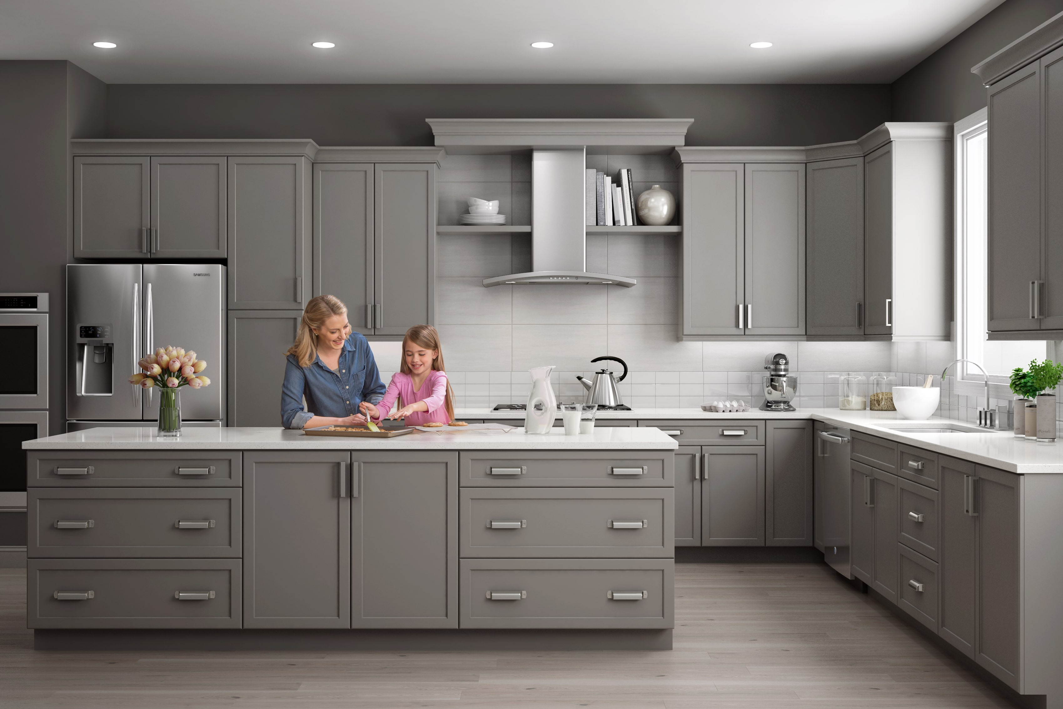 Reasons To Choose Grey Kitchen Cabinets Wolf Home Products