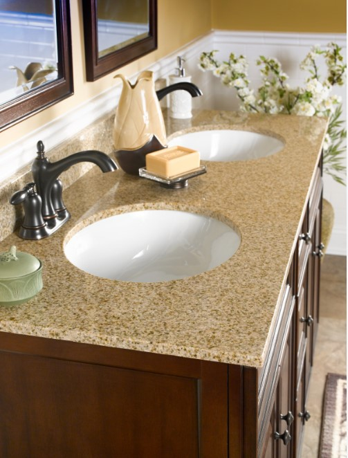 Natural Granite Vanity Top