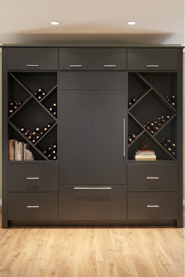 Wolf Designer Cabinet in Ebony Paint