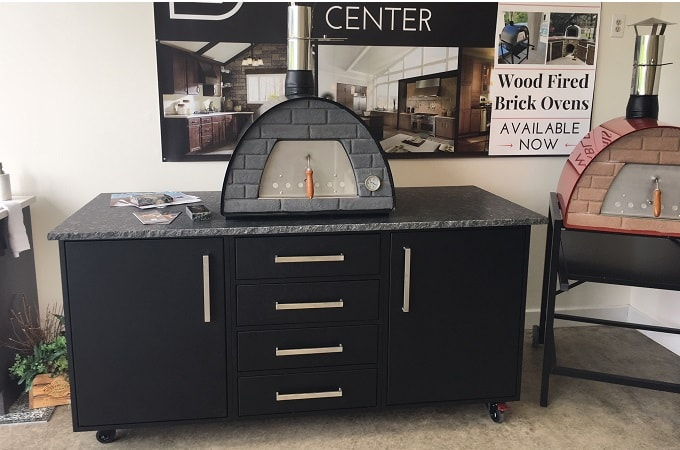 Wolf Outdoor Endurance Cabinetry in Black