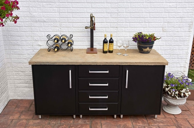 Wolf Endurance Cabinetry in Black