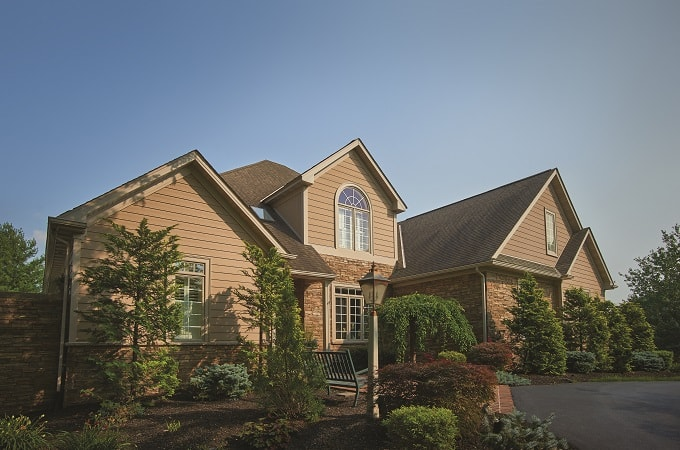 Wolf Portrait Siding, Trim & Moulding in Sandstone