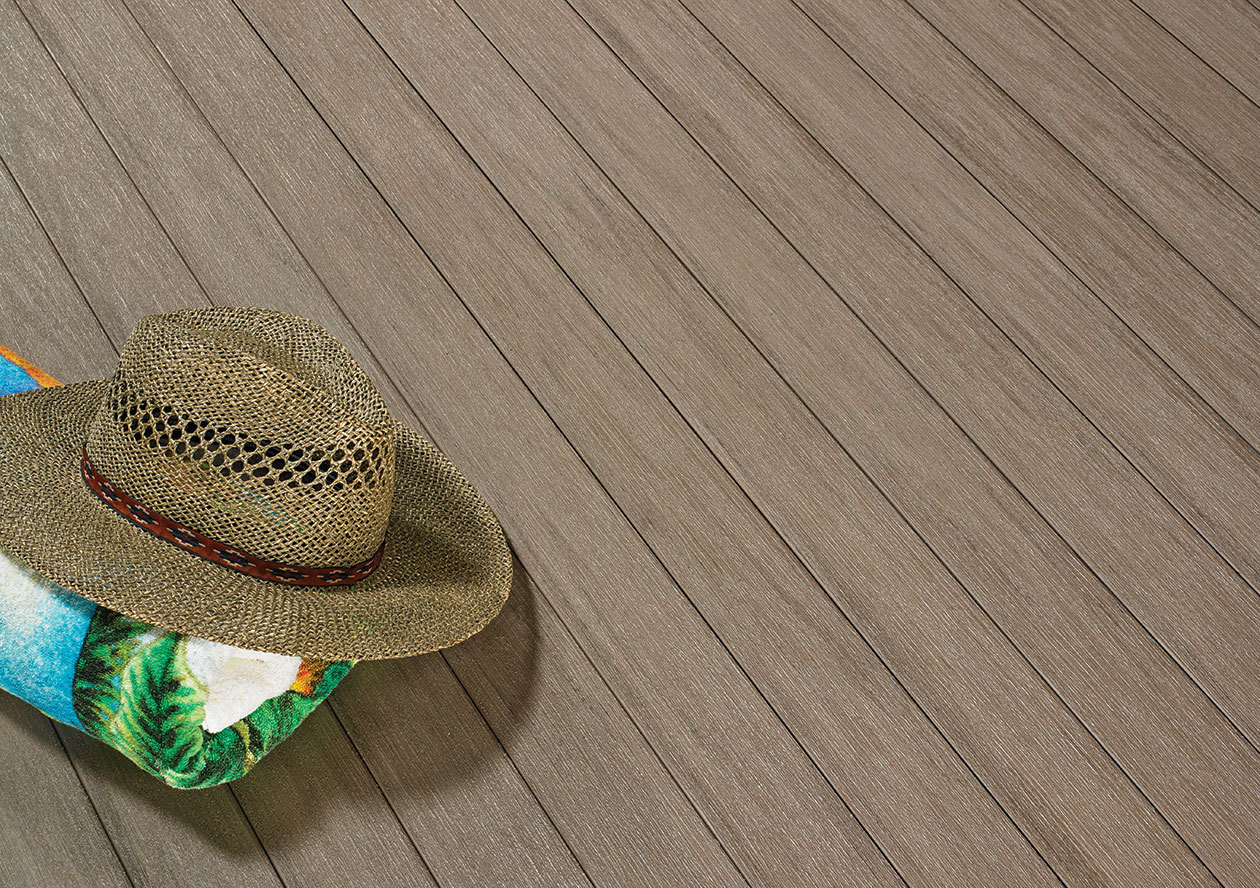 Beach Hat on Front Porch