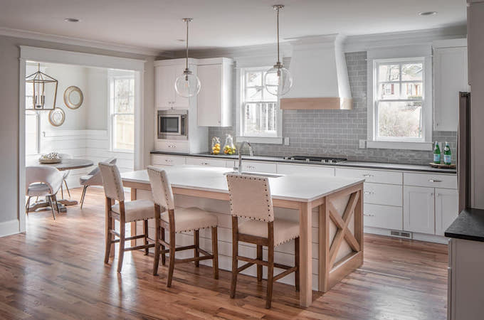 Wolf Classic Kitchen Cabinetry in White Paint