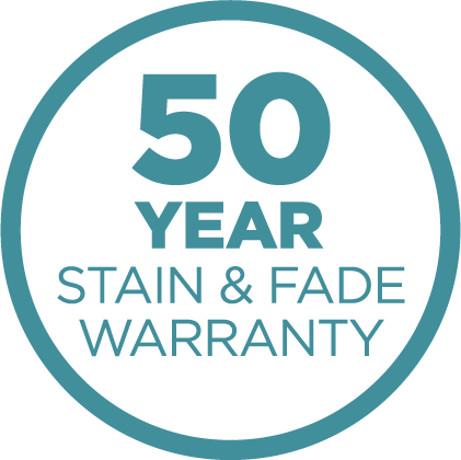 50-Year Stain and Fade Warranty Icon