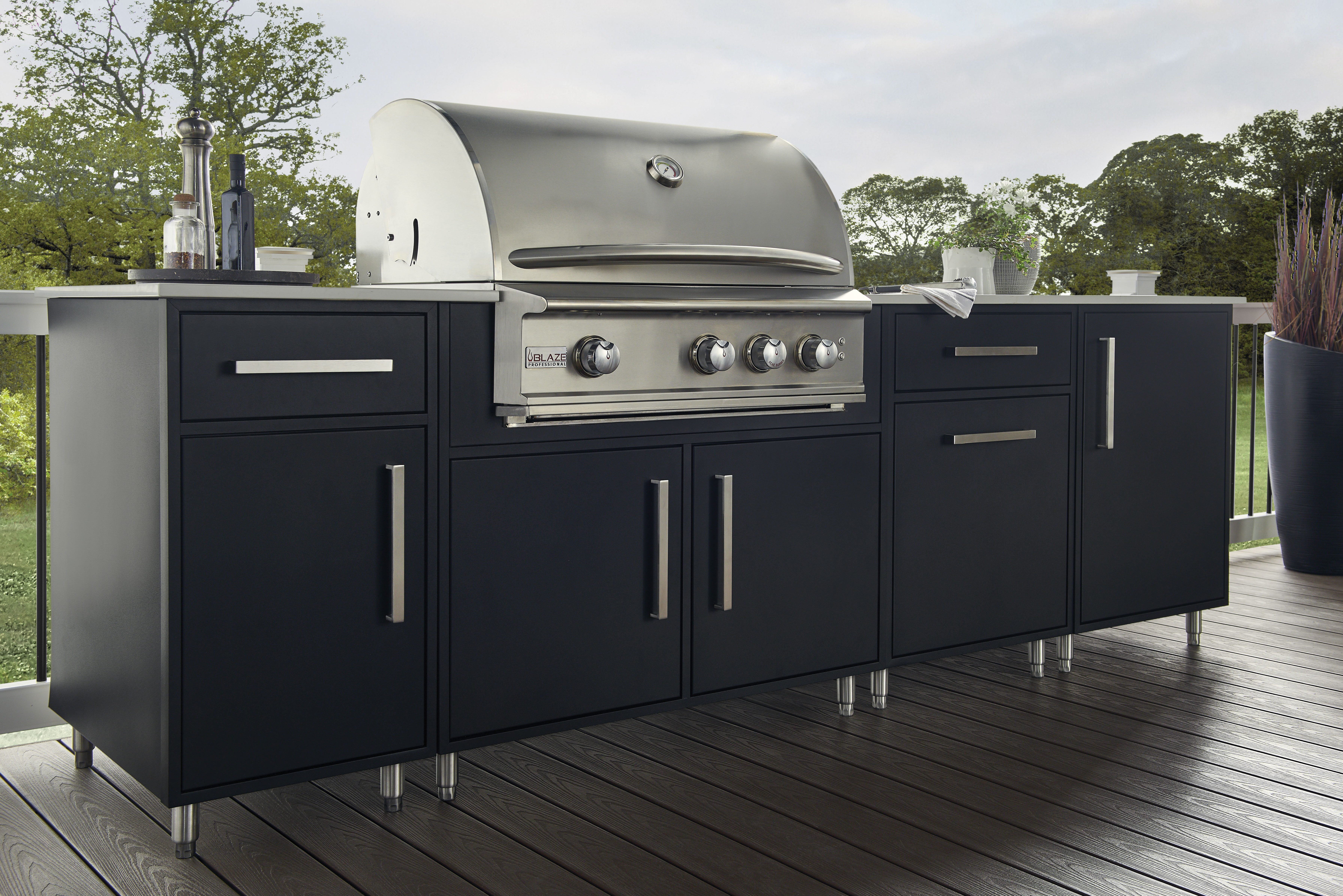 Aluminum Outdoor Cabinetry Wolf Home Products