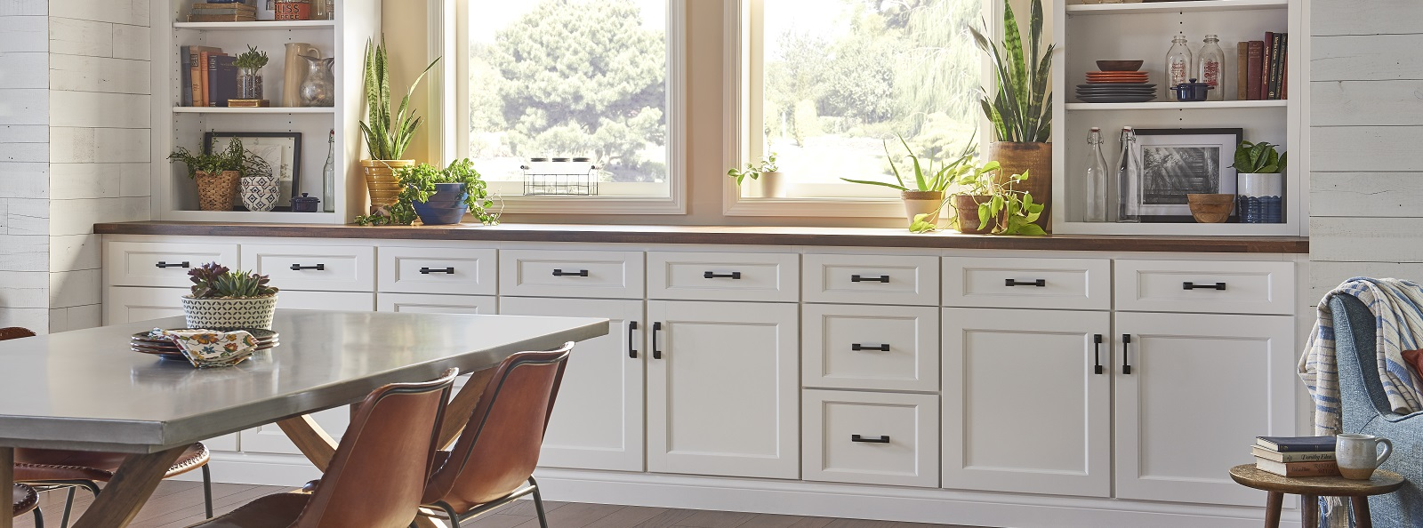 York White Cabinets