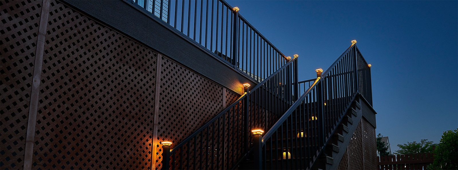 Wolf Outdoor Lighting For Decks and Railings