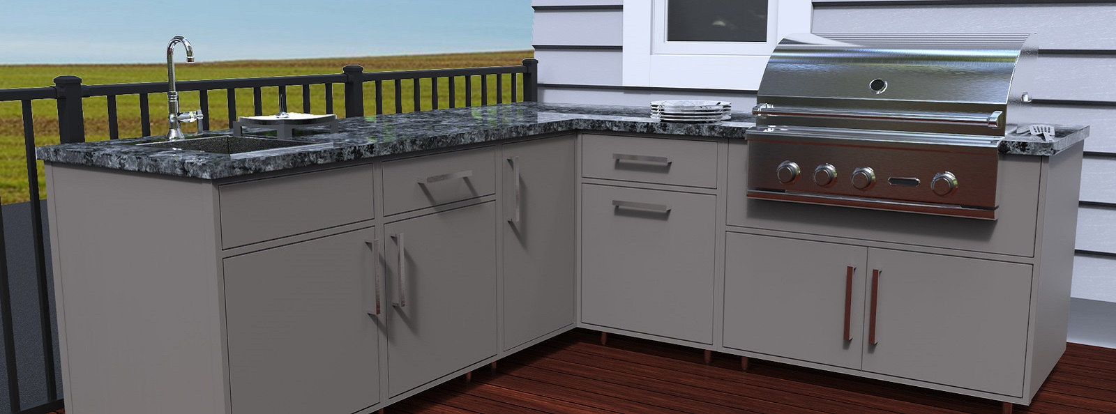 Introducing Wolf Outdoor Cabinetry | Wolf Home Products