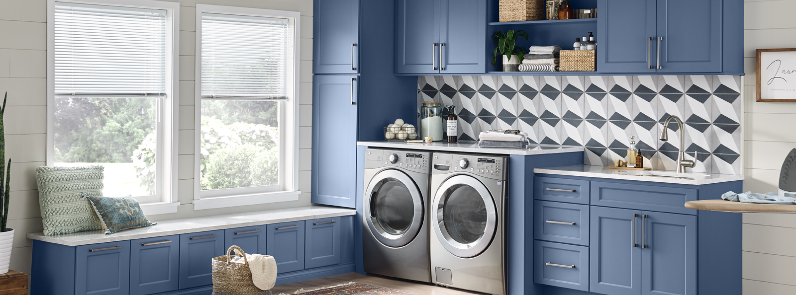 Wolf Classic Laundry Room Cabinets