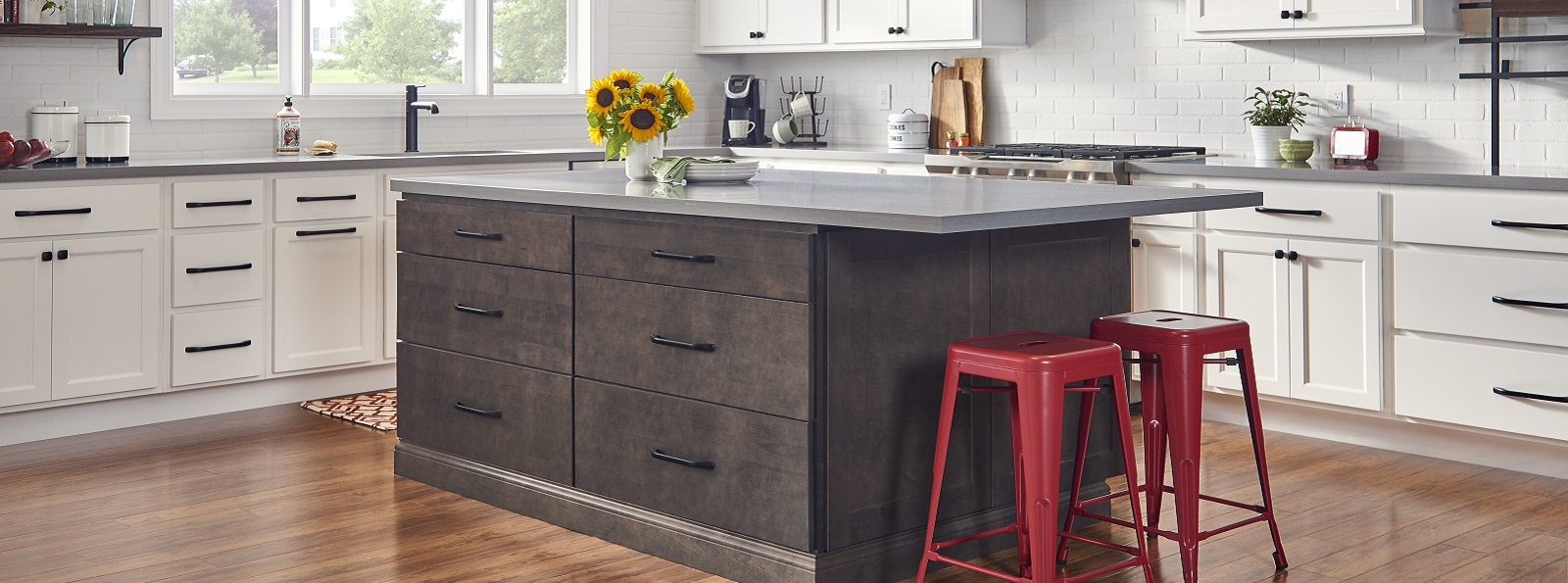 Dartmouth Brownstone Kitchen Island
