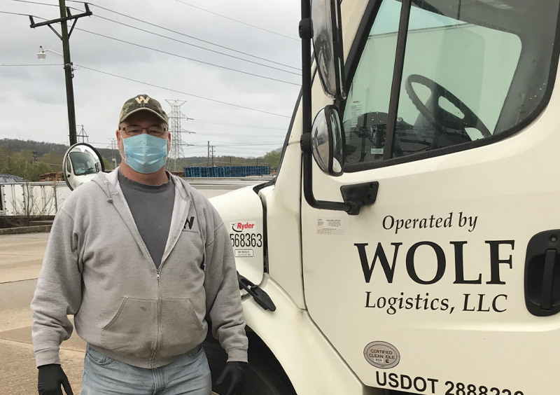 Wolf Truck and Truck Operator