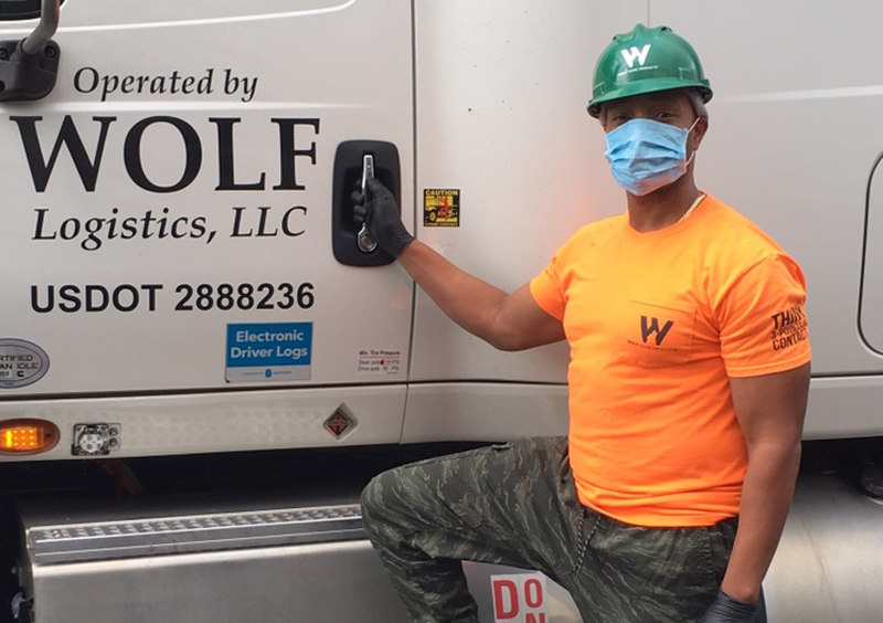 Wolf Home Products Truck Driver
