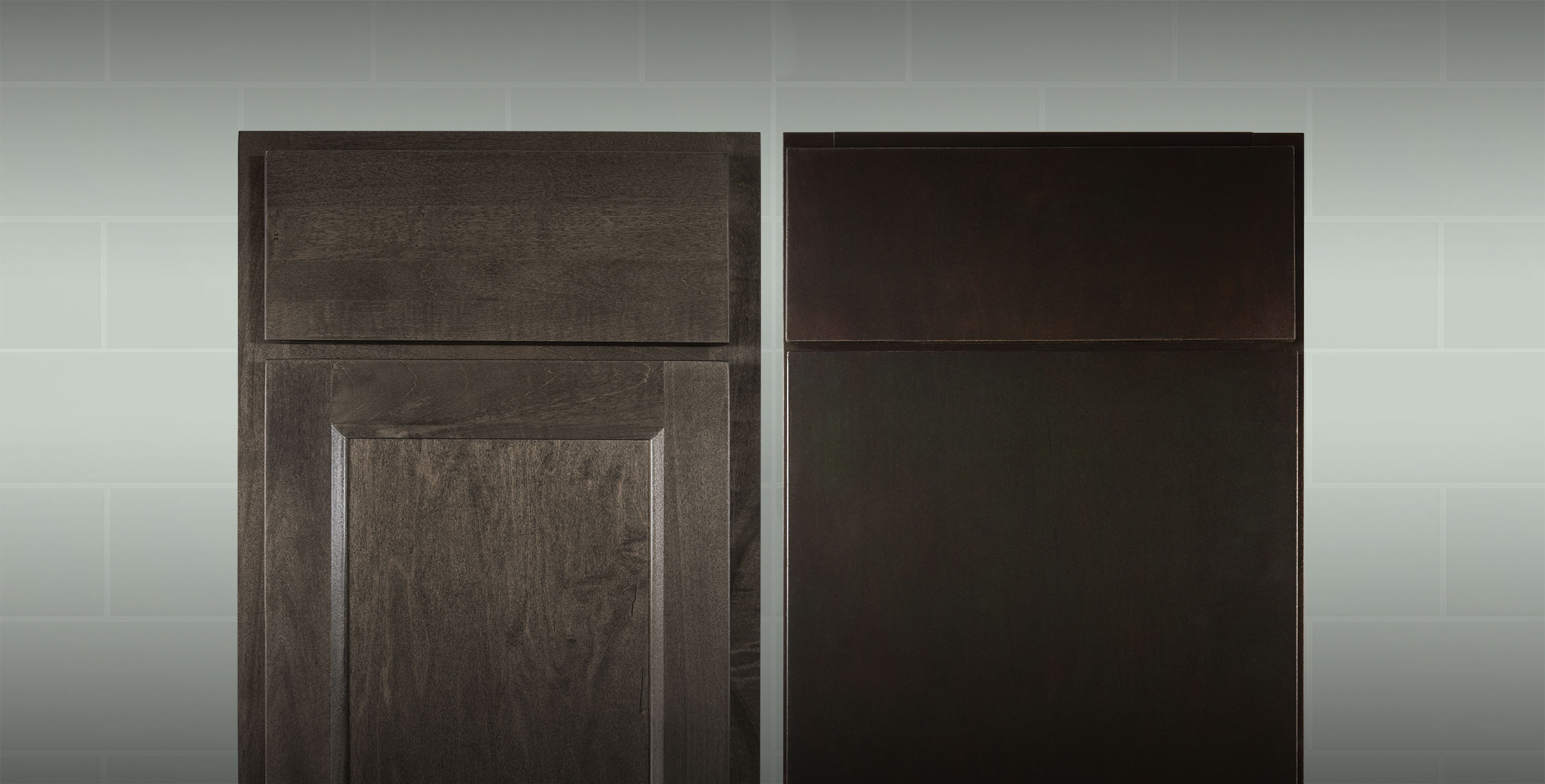 Door styles from the Builders Mark by Wolf cabinetry line