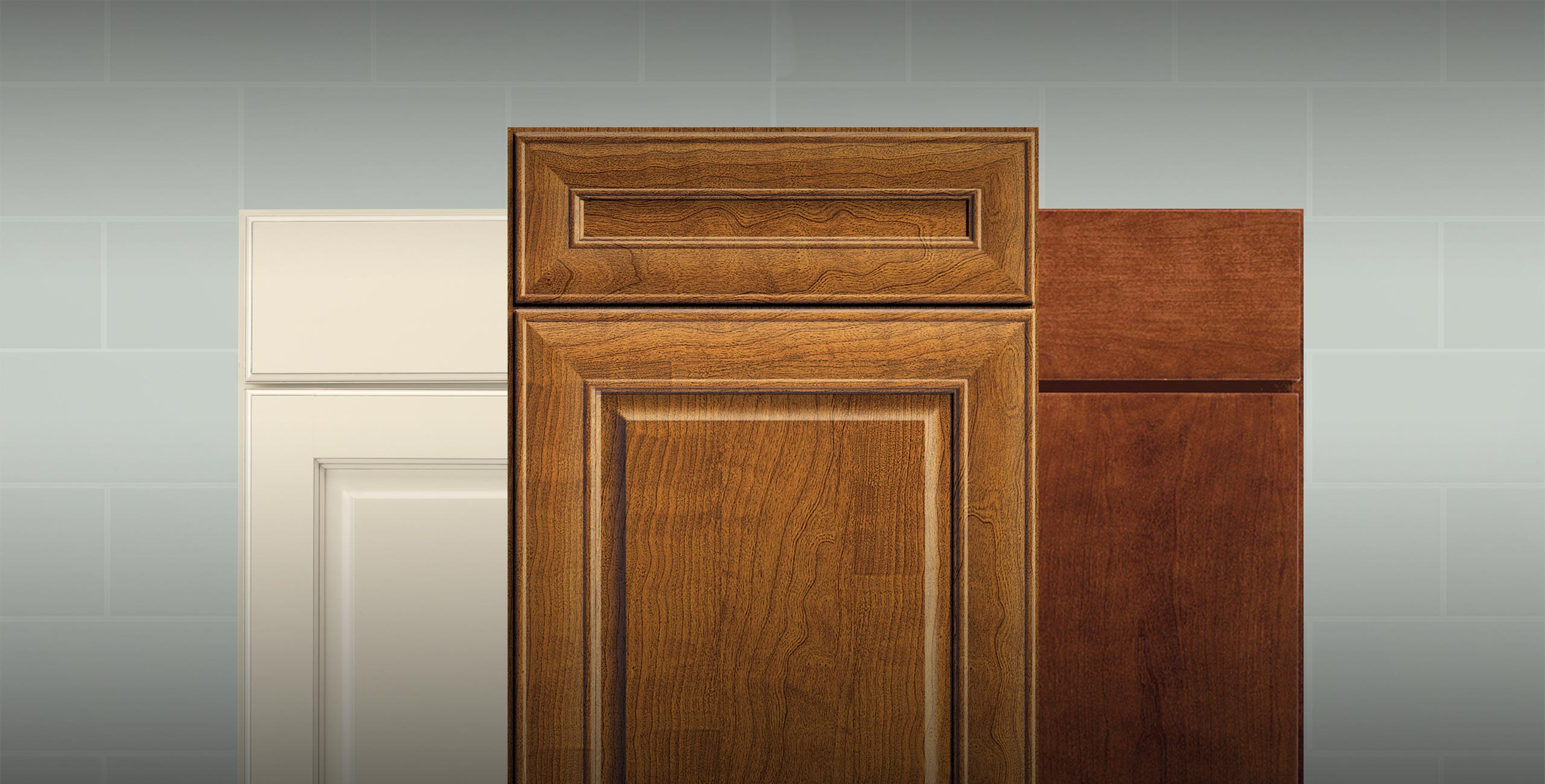 Door styles from the Wolf Designer cabinetry line