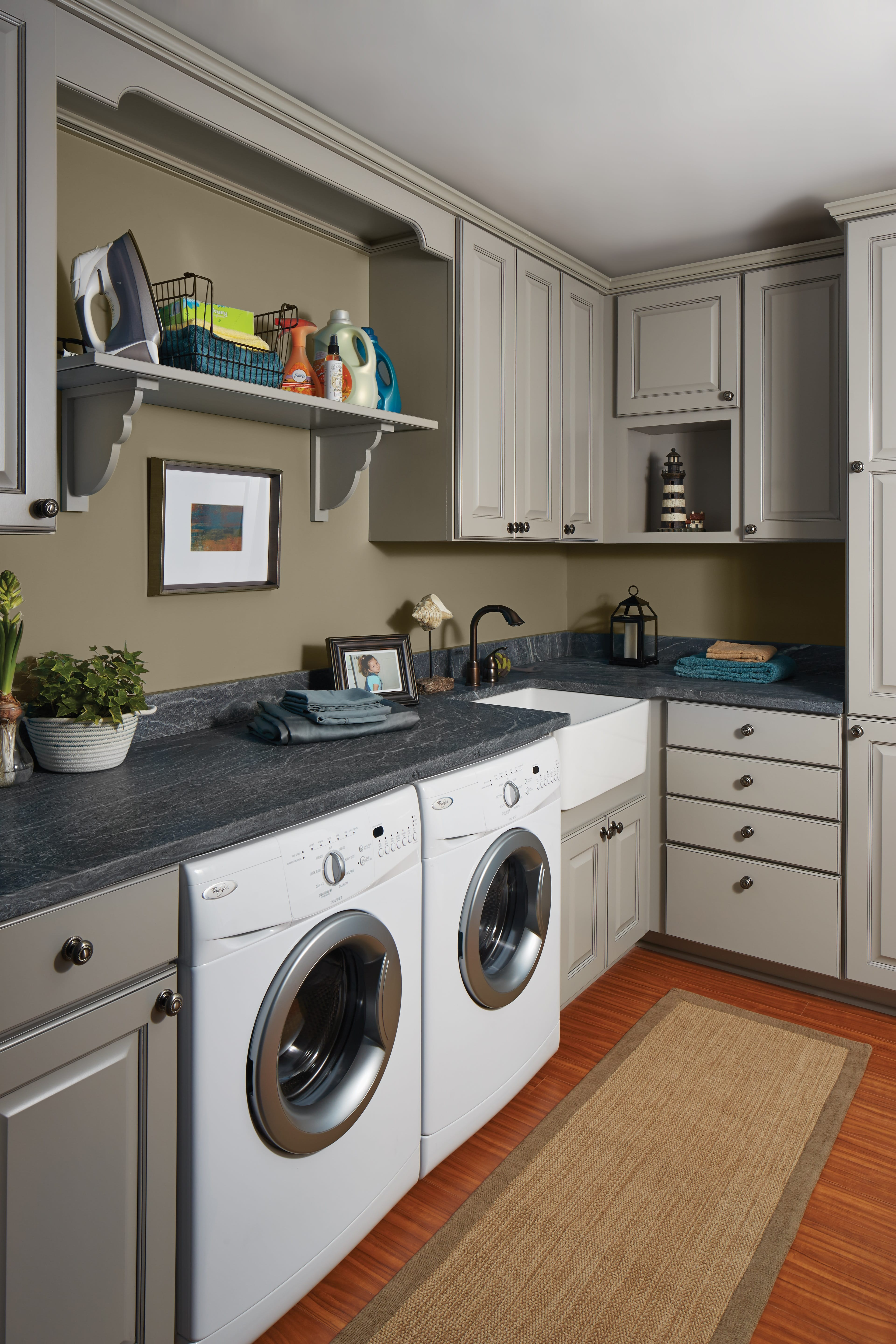Wolf Cabinets Laundry Room
