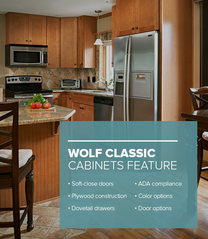Wolf Classic Cabinets Features