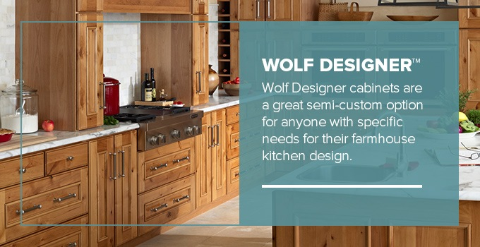 How To Create The Perfect Farmhouse Kitchen Wolf Home Products