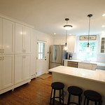 York Cabinets in Painted White