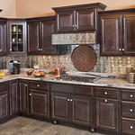 Saginaw Cabinets in Dark Sable