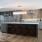 Wolf Designer Cabinets - Parsons in Maple, Painted Flint