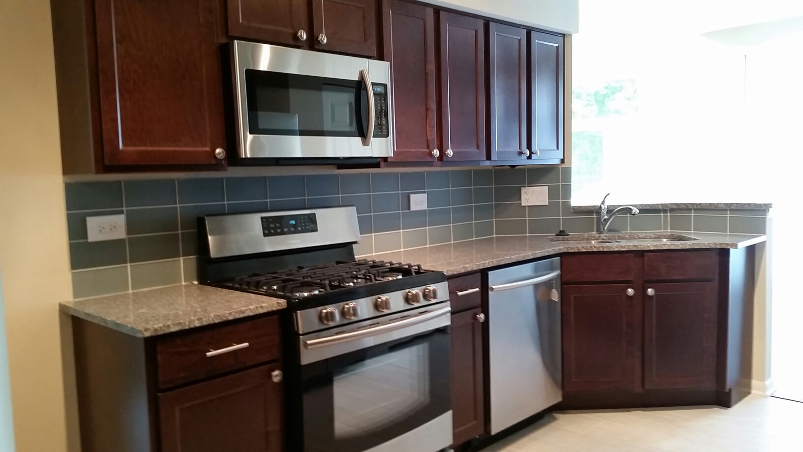 Sierra Cabinets in Harvest Brown
