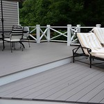 WOLF Decking in Harbor Grey, WOLF PVC Trim Boards