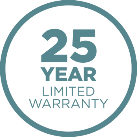 25-Year Limited Warranty Icon