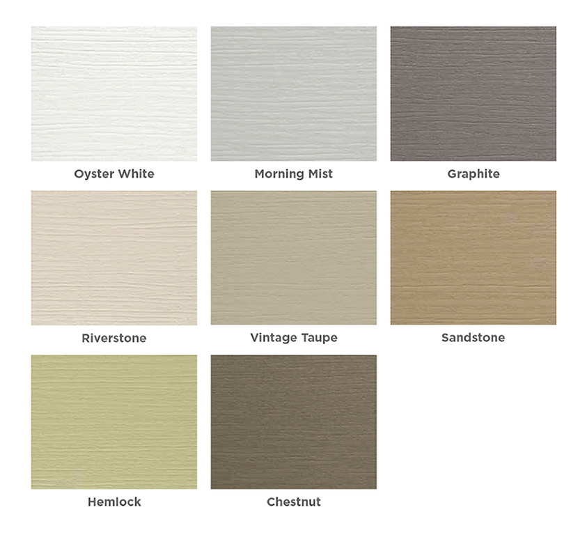 Wolf Portrait Siding Colors