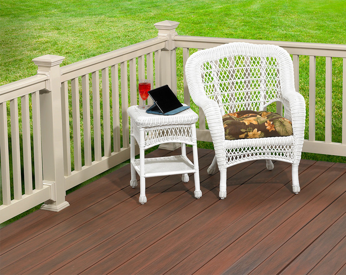 Wolf Value Series PVC Railing