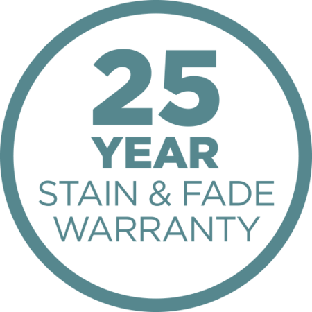 25-Year Stain and Fade Warranty Icon