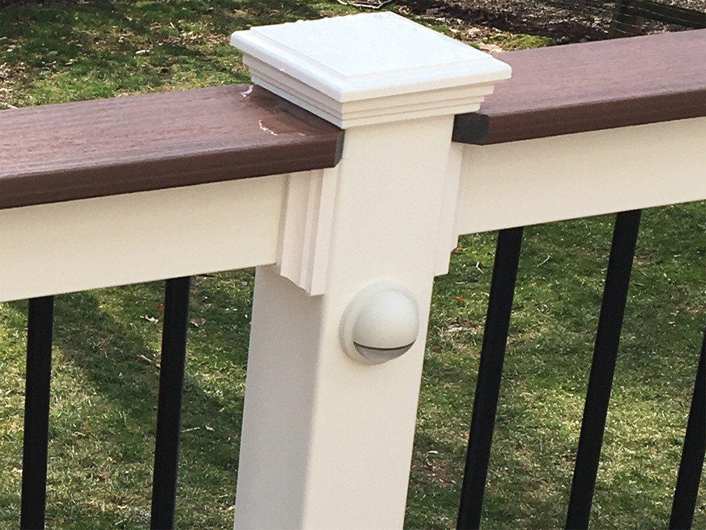 Wolf Designer PVC Railing with Deck Board