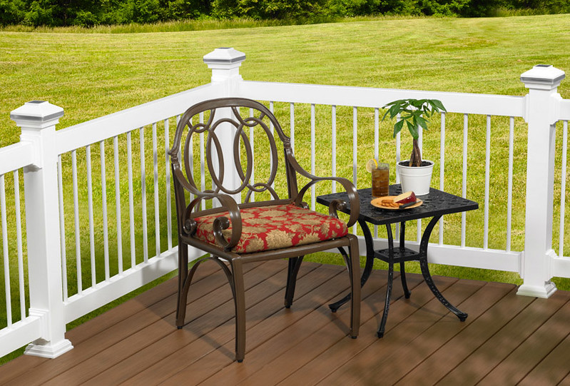 Wolf Railing and Deck