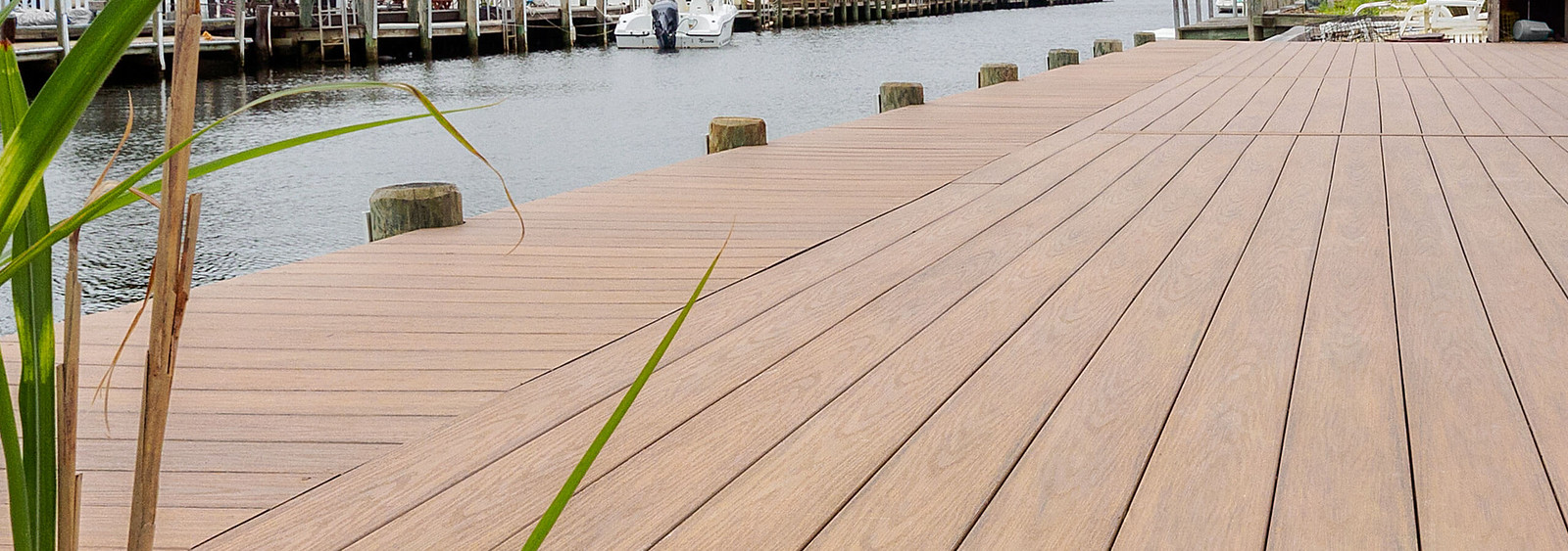 Serenity PVC Decking Near Water