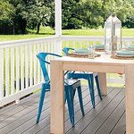 Wolf PVC Railing and Capped Composite Decking