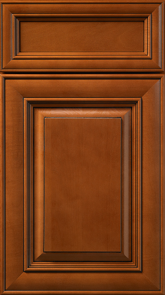 Hudsonin Heritage Brown Stain with Chocolate Glaze