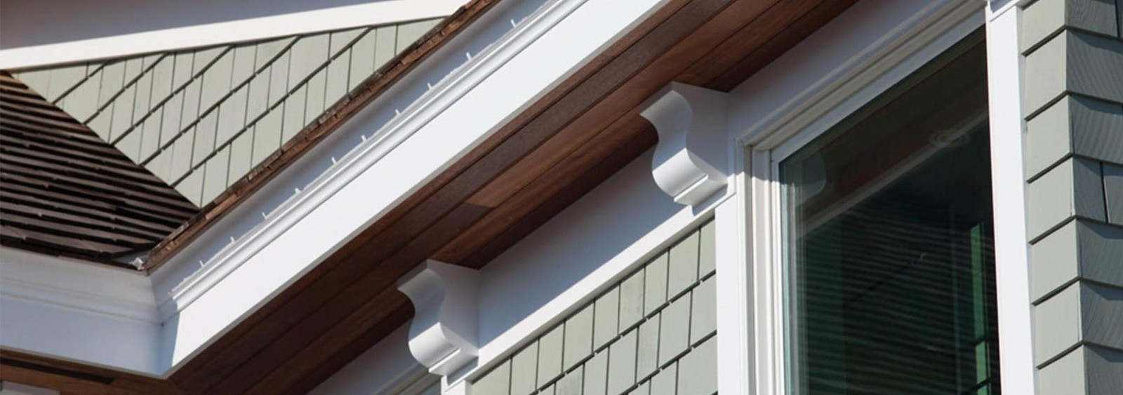 Wolf PVC Trim and Mouldings on Green Home