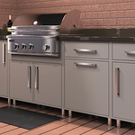 Outdoor Cabinetry Grey