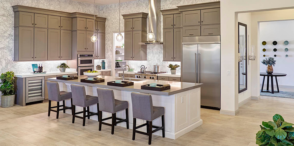 Semi-Custom Kitchen Cabinets