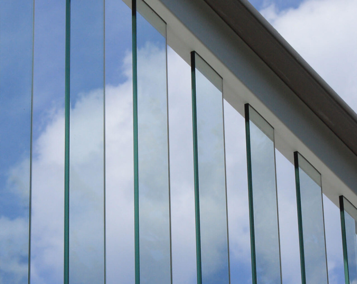 Glass Balusters for PVC Railing Systems