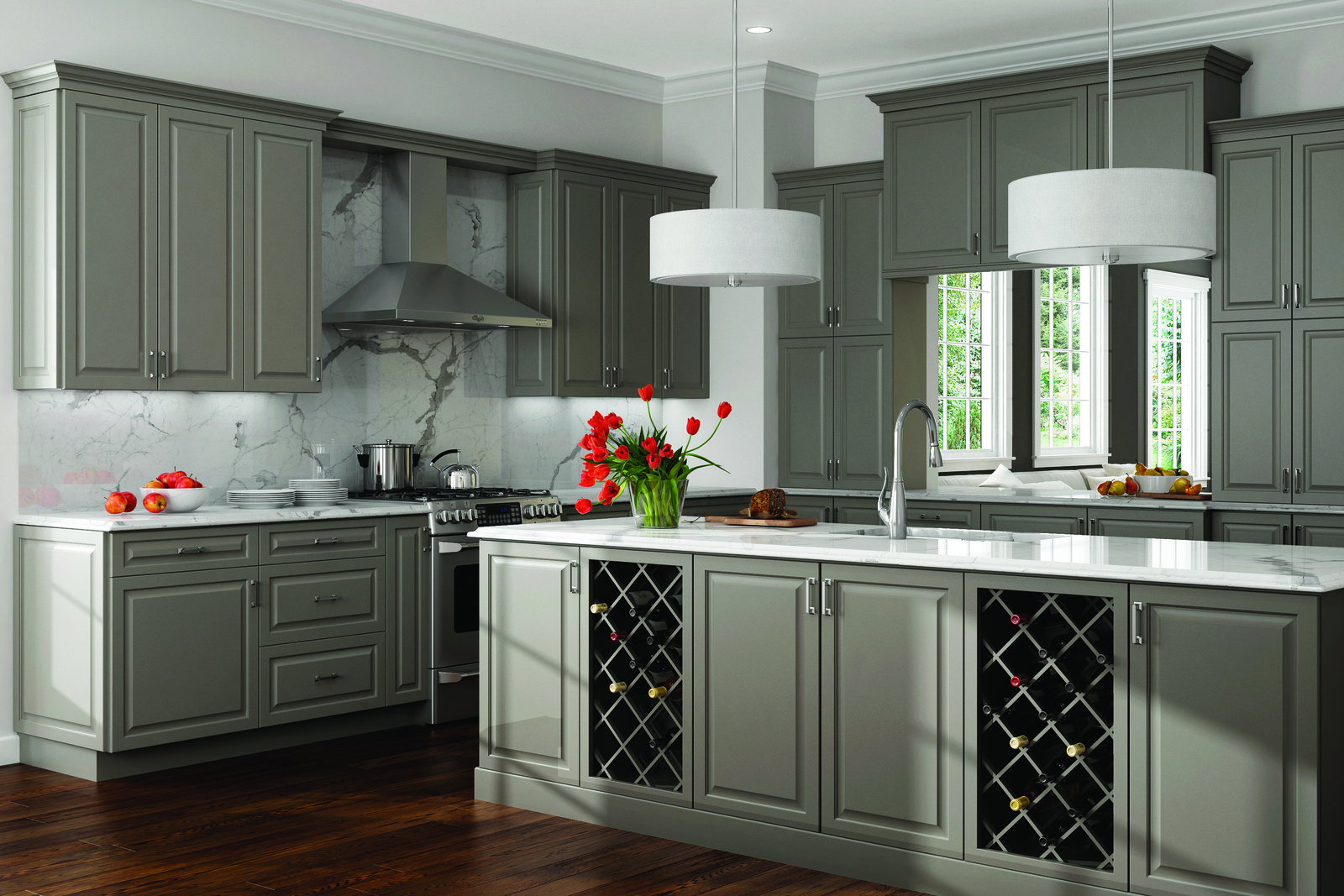 Kitchen Cabinet Photo Gallery | Wolf Home Products