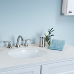 White Quartz Vanity Top