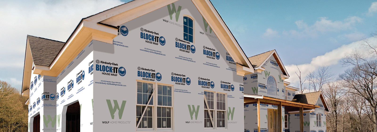BLOCK-IT House Wrap