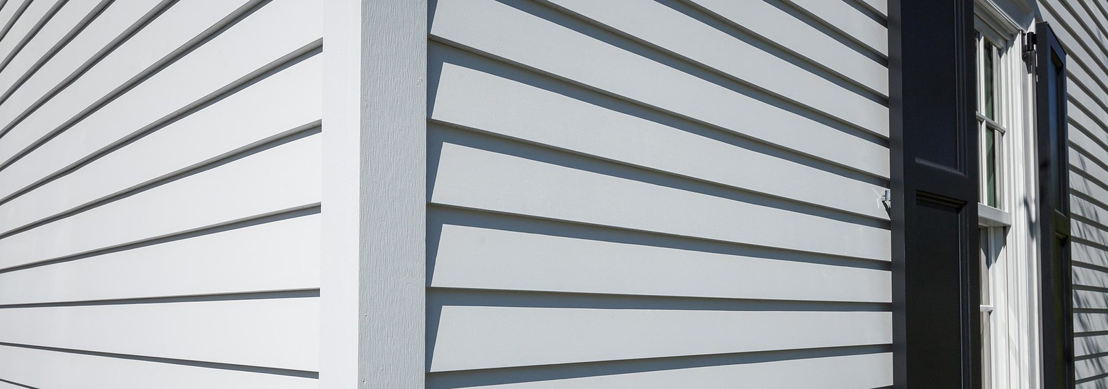 TruExterior Siding in White