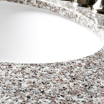 Wolf Natural Granite Vanity Tops in Burlywood